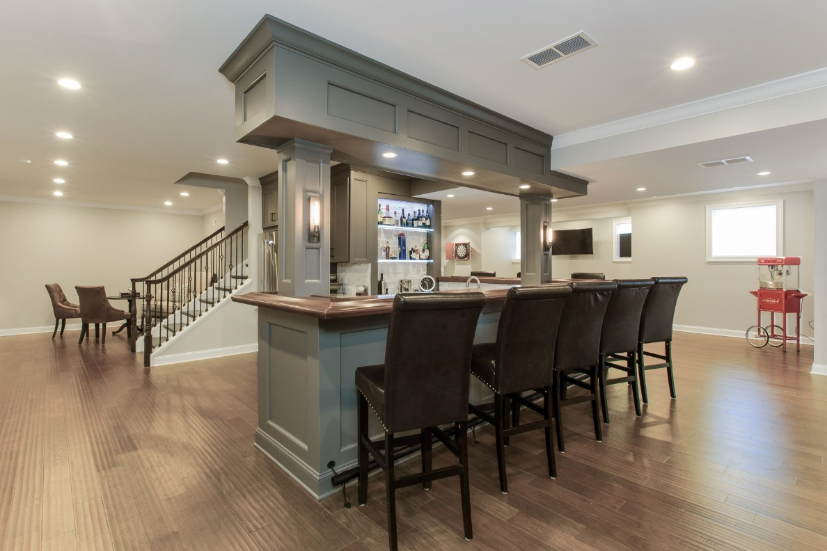 richboro basement remodel