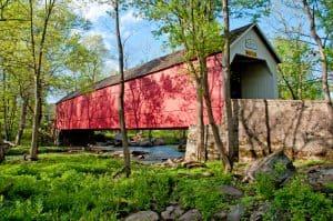 Bucks County, PA Covered Bridge